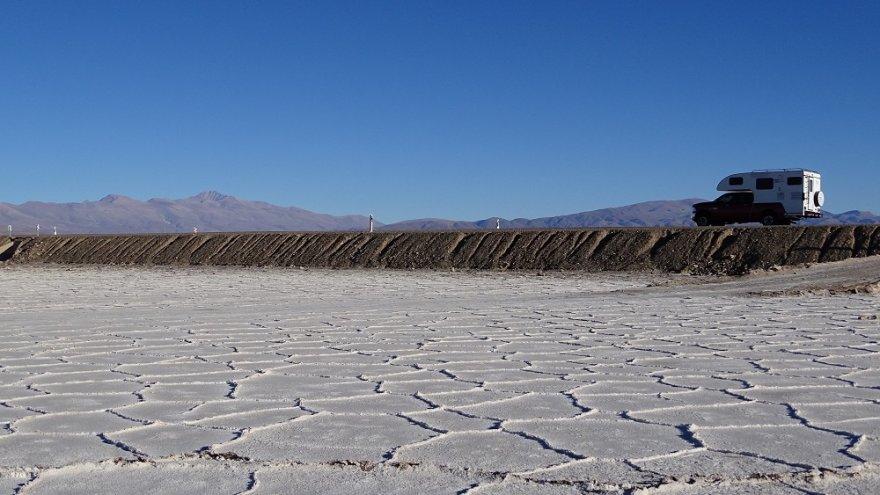 Salinas Grandes Anden Argentinien