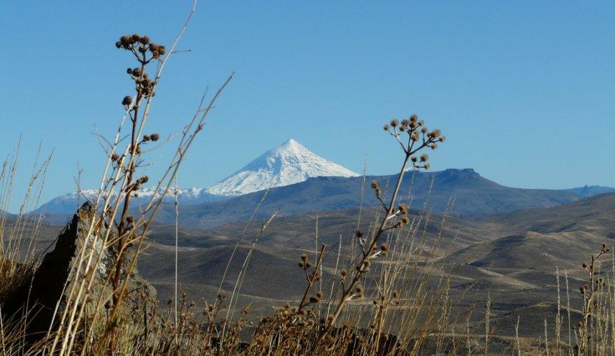 Vulkan Lanín Anden Argentinien