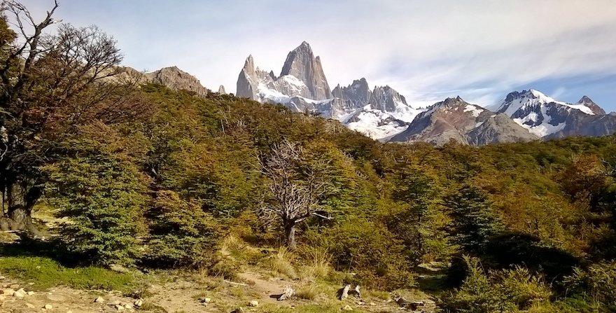 Fitz Roy Nationalpark Los Glaciares Patagonien Argentinien