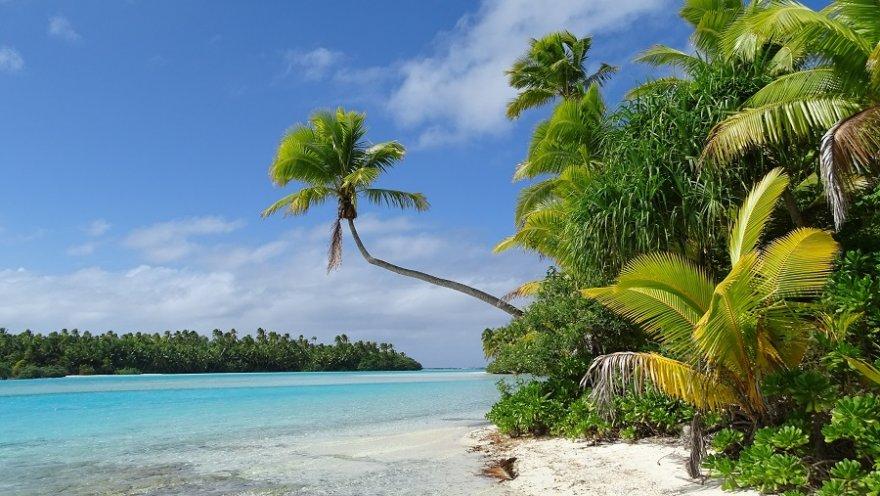 Cook Islands Aitutaki Lagune