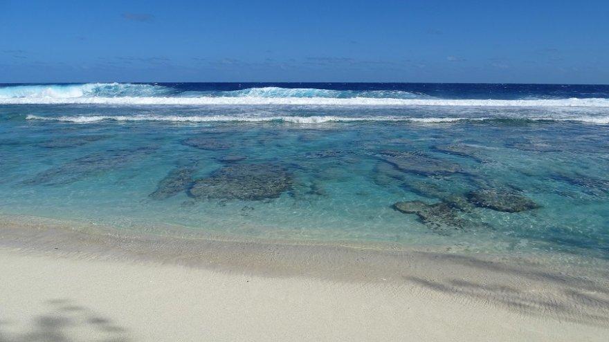 Atiu Cook Inseln Strand