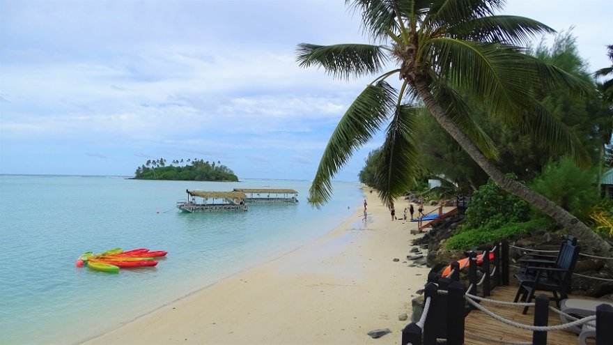 Cook Inseln Rarotonga Muri Motu
