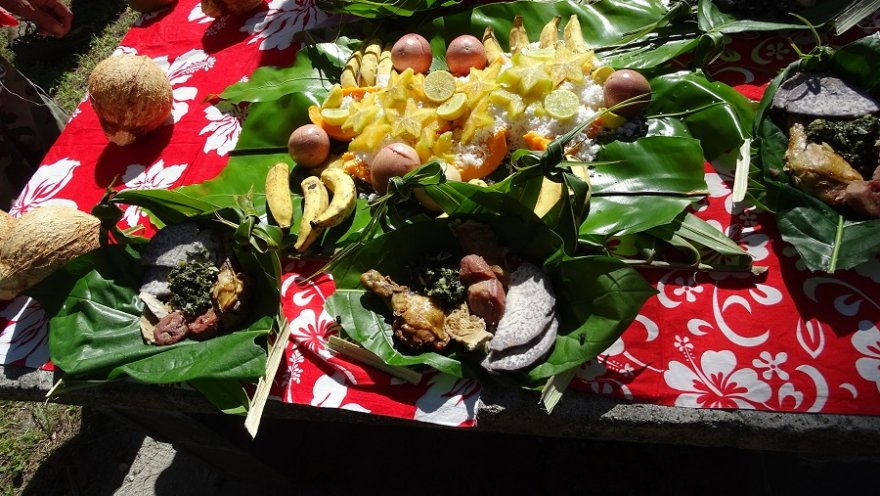 Food Cook Islands Atiu
