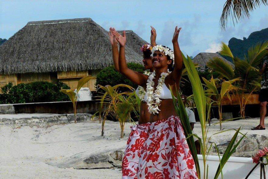 Gesellschaftsinseln Tanz Tahiti
