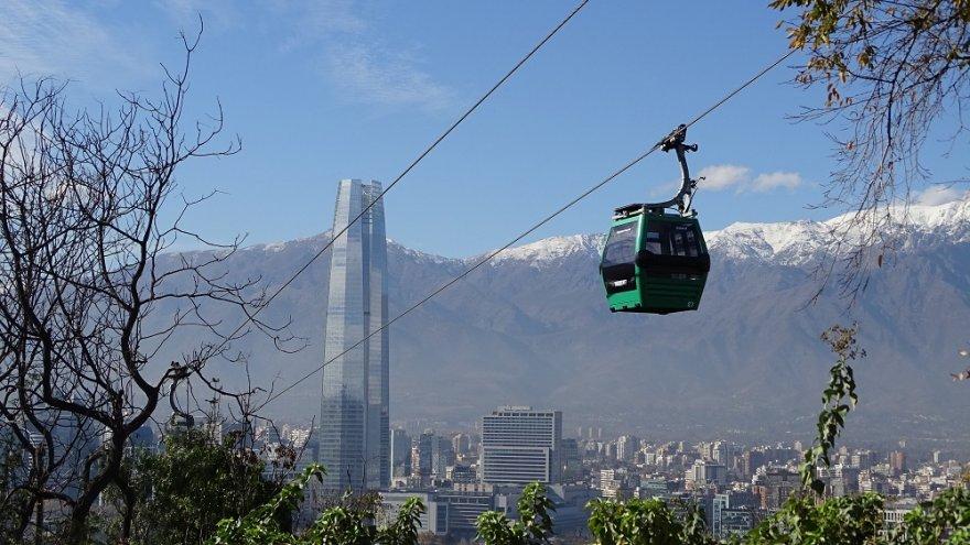 Gran Torre Santiago de Chile anden zentralregion
