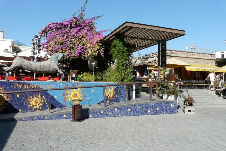 Patio Bellavista Santiago de Chile zentralregion anden chile