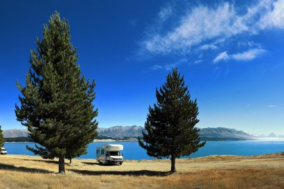 Flug & Camper Pakete  Neuseeland